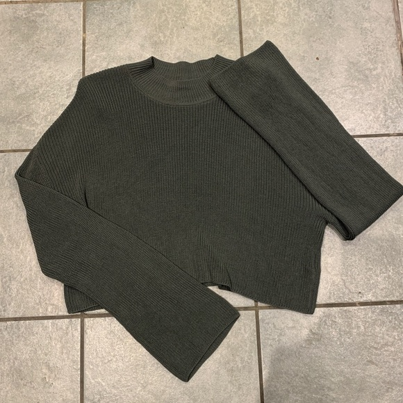 Wilfred Cropped Knit Sweater